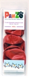 PAWZ Waterproof Rubber Dog Boots Small-Red or Black