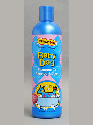 Crazy Dog - Baby Powder Shampoo 12oz/355ml